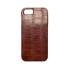 Leather Snake Skin Texture Apple iPhone 5 Classic Hardshell Case (PC+Silicone)