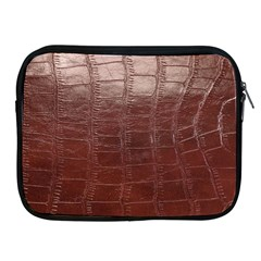 Leather Snake Skin Texture Apple Ipad 2/3/4 Zipper Cases