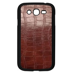 Leather Snake Skin Texture Samsung Galaxy Grand Duos I9082 Case (black)