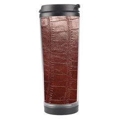 Leather Snake Skin Texture Travel Tumbler