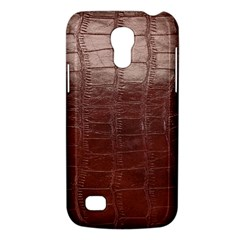 Leather Snake Skin Texture Galaxy S4 Mini