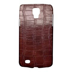 Leather Snake Skin Texture Galaxy S4 Active