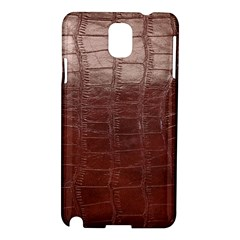 Leather Snake Skin Texture Samsung Galaxy Note 3 N9005 Hardshell Case