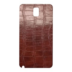 Leather Snake Skin Texture Samsung Galaxy Note 3 N9005 Hardshell Back Case