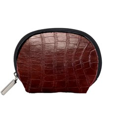 Leather Snake Skin Texture Accessory Pouches (small)