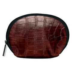 Leather Snake Skin Texture Accessory Pouches (medium)