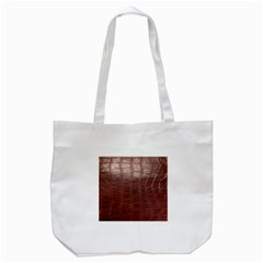 Leather Snake Skin Texture Tote Bag (white)