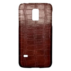 Leather Snake Skin Texture Galaxy S5 Mini