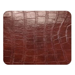 Leather Snake Skin Texture Double Sided Flano Blanket (Large)