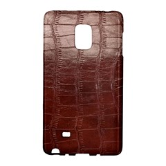 Leather Snake Skin Texture Galaxy Note Edge