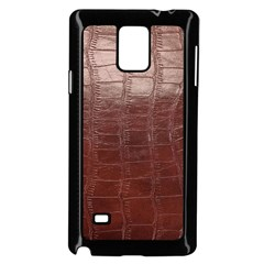 Leather Snake Skin Texture Samsung Galaxy Note 4 Case (Black)