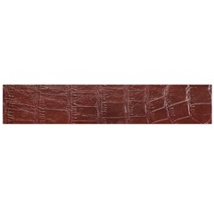 Leather Snake Skin Texture Flano Scarf (large)