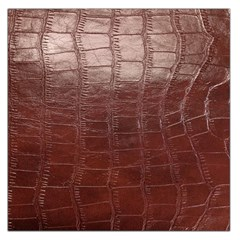 Leather Snake Skin Texture Large Satin Scarf (Square)