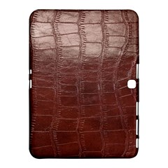 Leather Snake Skin Texture Samsung Galaxy Tab 4 (10 1 ) Hardshell Case