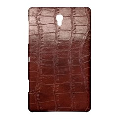 Leather Snake Skin Texture Samsung Galaxy Tab S (8.4 ) Hardshell Case