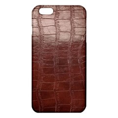 Leather Snake Skin Texture iPhone 6 Plus/6S Plus TPU Case