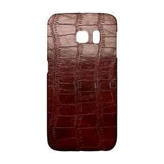Leather Snake Skin Texture Galaxy S6 Edge