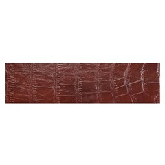 Leather Snake Skin Texture Satin Scarf (Oblong)