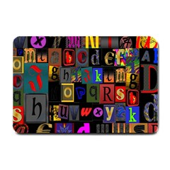 Letters A Abc Alphabet Literacy Small Doormat