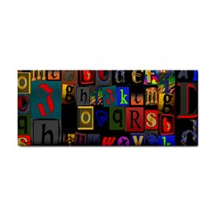 Letters A Abc Alphabet Literacy Cosmetic Storage Cases