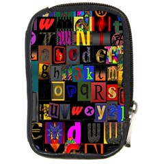Letters A Abc Alphabet Literacy Compact Camera Cases