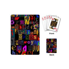 Letters A Abc Alphabet Literacy Playing Cards (Mini)