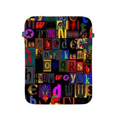 Letters A Abc Alphabet Literacy Apple Ipad 2/3/4 Protective Soft Cases