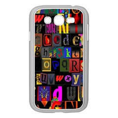 Letters A Abc Alphabet Literacy Samsung Galaxy Grand Duos I9082 Case (white)
