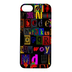 Letters A Abc Alphabet Literacy Apple Iphone 5s/ Se Hardshell Case