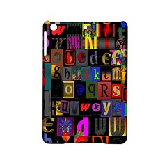 Letters A Abc Alphabet Literacy Ipad Mini 2 Hardshell Cases