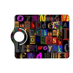 Letters A Abc Alphabet Literacy Kindle Fire Hd (2013) Flip 360 Case