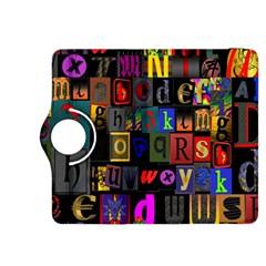 Letters A Abc Alphabet Literacy Kindle Fire Hdx 8 9  Flip 360 Case