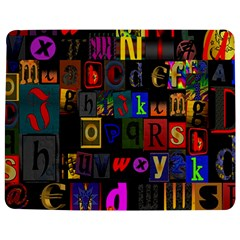 Letters A Abc Alphabet Literacy Jigsaw Puzzle Photo Stand (Rectangular)