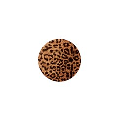 Leopard Print Animal Print Backdrop 1  Mini Magnets