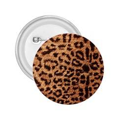 Leopard Print Animal Print Backdrop 2.25  Buttons