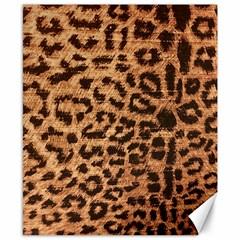 Leopard Print Animal Print Backdrop Canvas 8  x 10