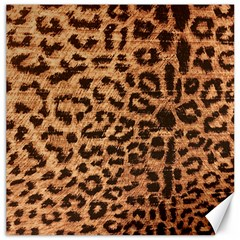 Leopard Print Animal Print Backdrop Canvas 12  x 12