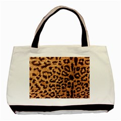 Leopard Print Animal Print Backdrop Basic Tote Bag (Two Sides)