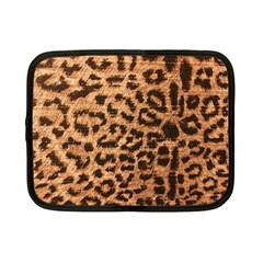 Leopard Print Animal Print Backdrop Netbook Case (Small)