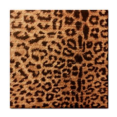 Leopard Print Animal Print Backdrop Face Towel