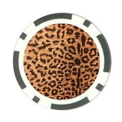 Leopard Print Animal Print Backdrop Poker Chip Card Guard (10 pack)