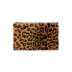 Leopard Print Animal Print Backdrop Cosmetic Bag (Small)