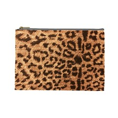 Leopard Print Animal Print Backdrop Cosmetic Bag (large)