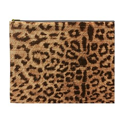 Leopard Print Animal Print Backdrop Cosmetic Bag (XL)