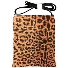 Leopard Print Animal Print Backdrop Shoulder Sling Bags