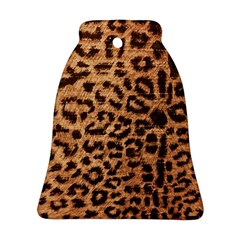 Leopard Print Animal Print Backdrop Bell Ornament (two Sides)