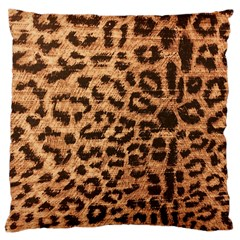 Leopard Print Animal Print Backdrop Large Cushion Case (Two Sides)