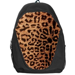 Leopard Print Animal Print Backdrop Backpack Bag