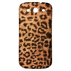 Leopard Print Animal Print Backdrop Samsung Galaxy S3 S Iii Classic Hardshell Back Case