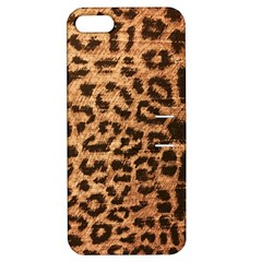 Leopard Print Animal Print Backdrop Apple iPhone 5 Hardshell Case with Stand